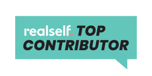 Realself Top Contributor Logo for Dr. Butterwick