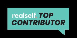 Realself Top Contributor Icon for Dr. Goldman