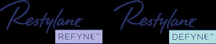 Restylane Refyne Defyne Logo San Diego