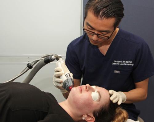 fraxel dual laser skin treatment in san diego, ca