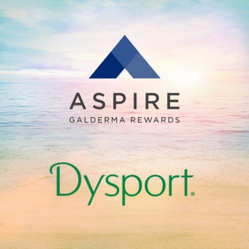 Dysport Rewards Program with Aspire by Galderma