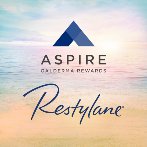 Restylane rewards with Aspire by Galderma