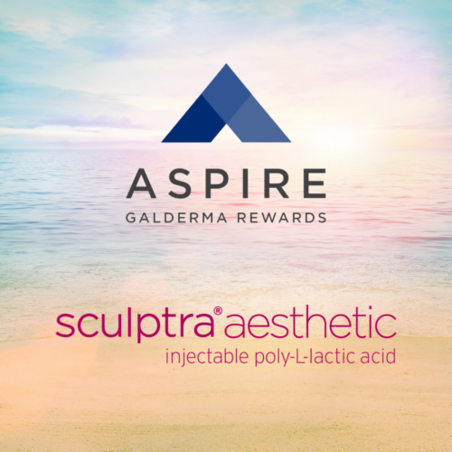 Save on Sculptra treatments with Aspire by Galderma