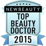 New Beauty Top Beauty Doctor 2015 Logo for Dr. Butterwick