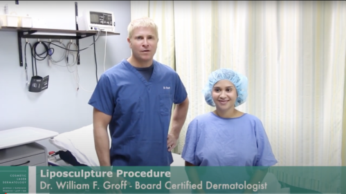 Dr. Groff Removes Excess Fat with Tumescent Liposculpture   San Diego Liposuction Experts